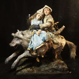 "New doll ""Ivan Tsarevich on Grey Wolf"""