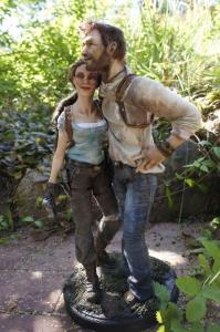 Lara Croft & Nathan Drake