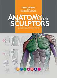 Zarins Uldis, Kondrats Sandis - Anatomy for Sculptors